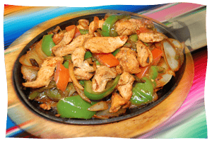 Grilled Chicken Fajitas for 2