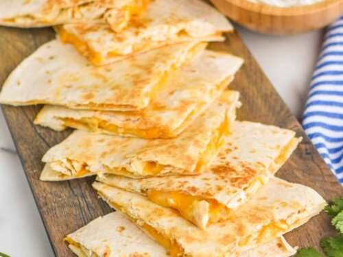 Quesadillas with Cheese