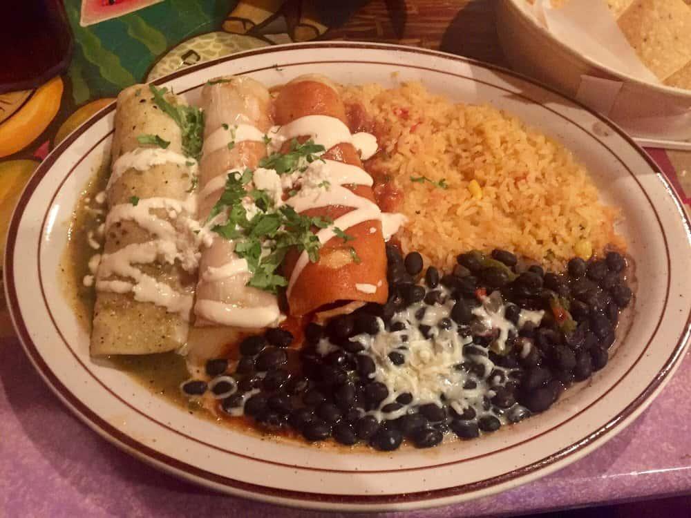 Enchiladas Banderita