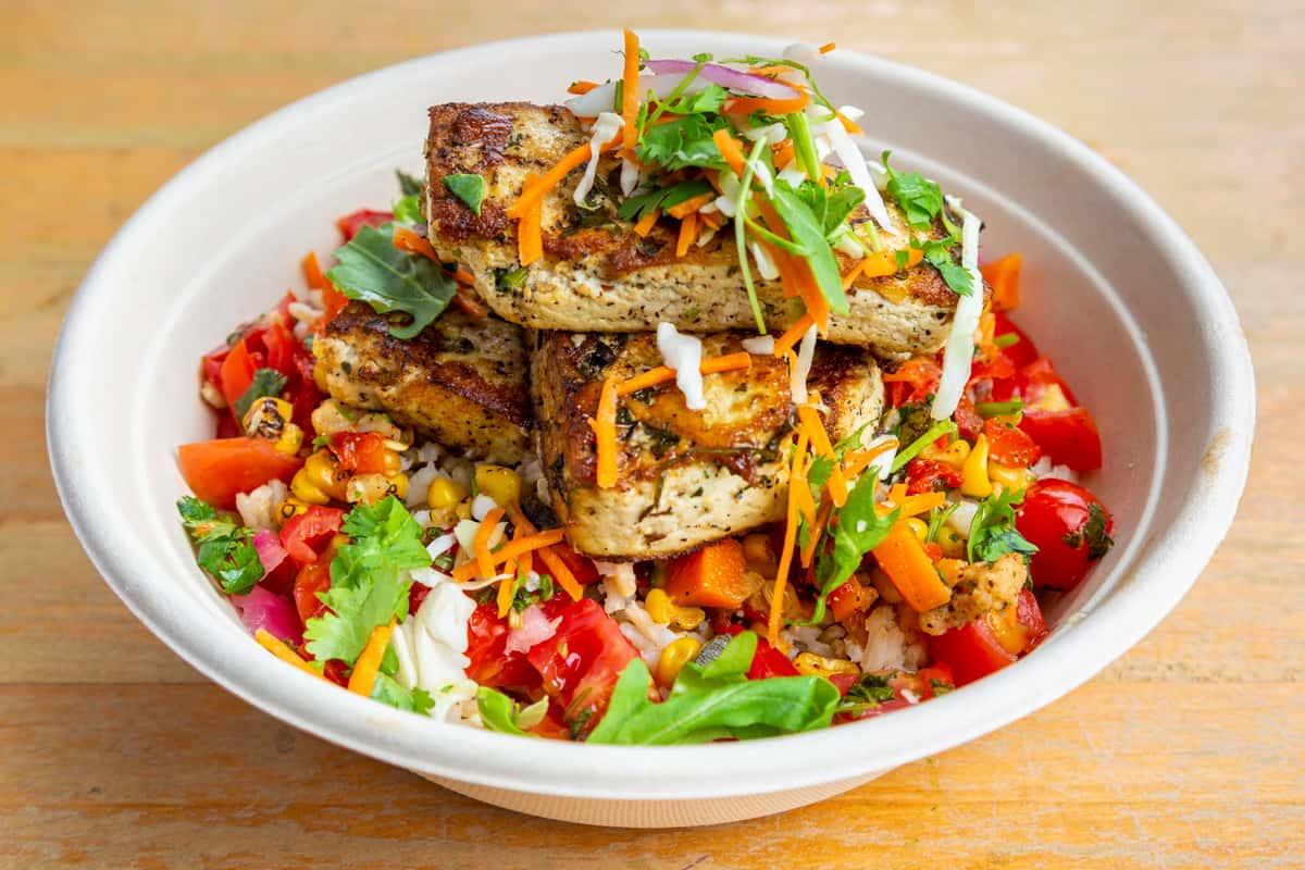 Vegan Grilled Tofu