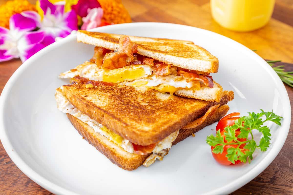 Egg, Cheese, Bacon