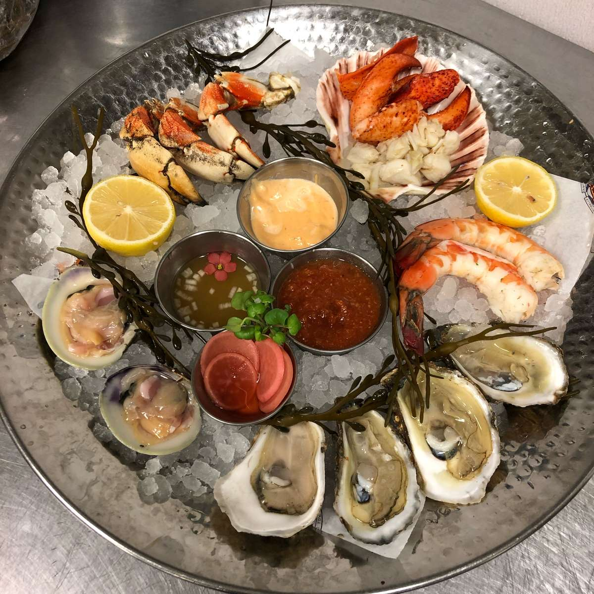 Chilled Seafood Platter for 4