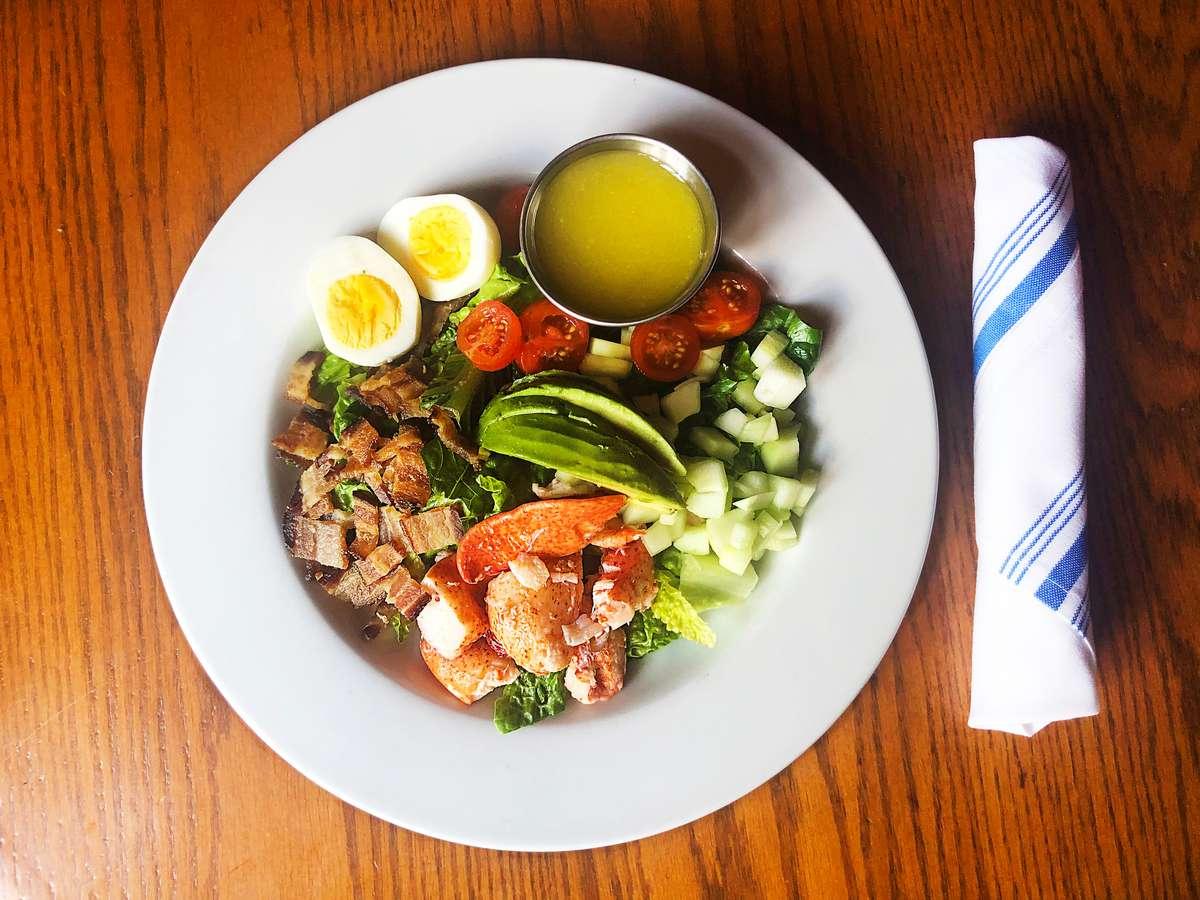 Lobster BLT Salad
