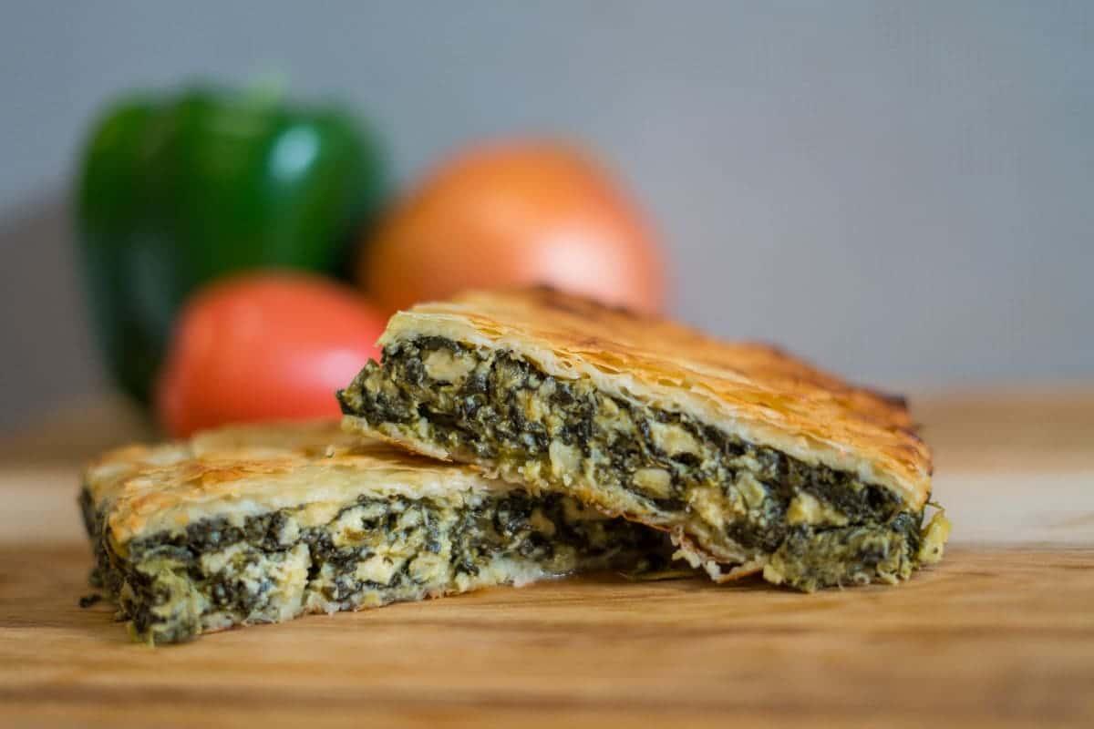 Spinach Pie Dinner