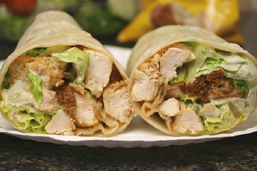 Grilled Chicken Caesar Wrap*