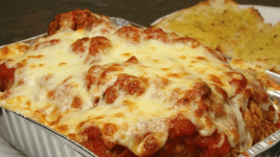Spaghetti or ziti with Chicken Parm*