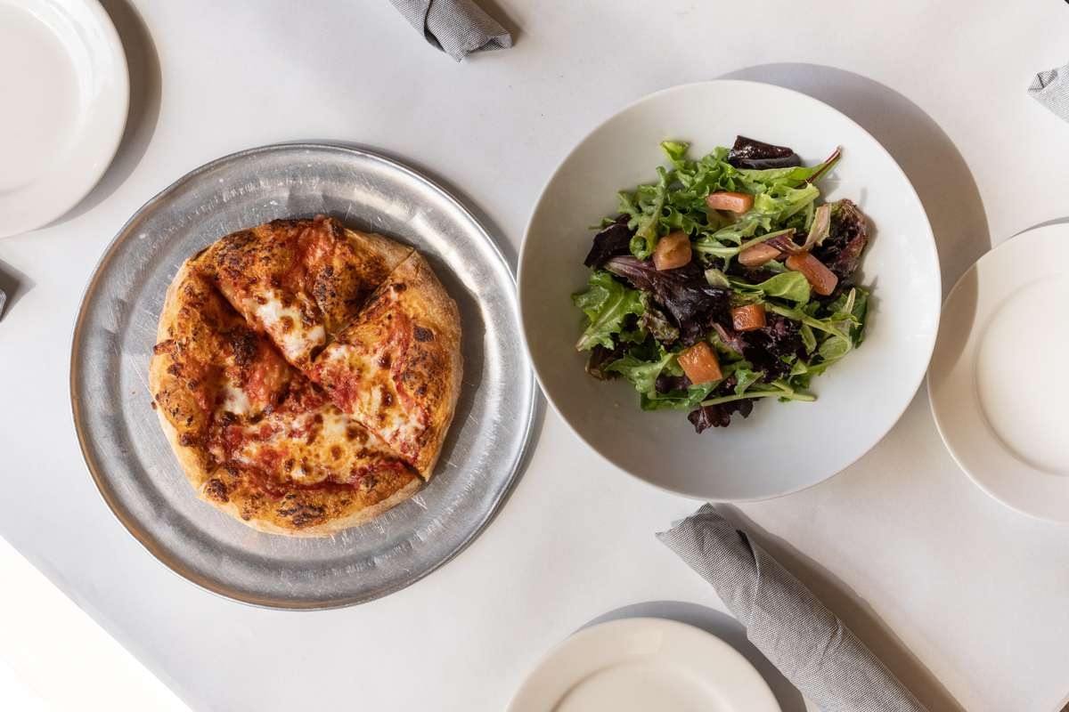 Pizza and Salad Combo