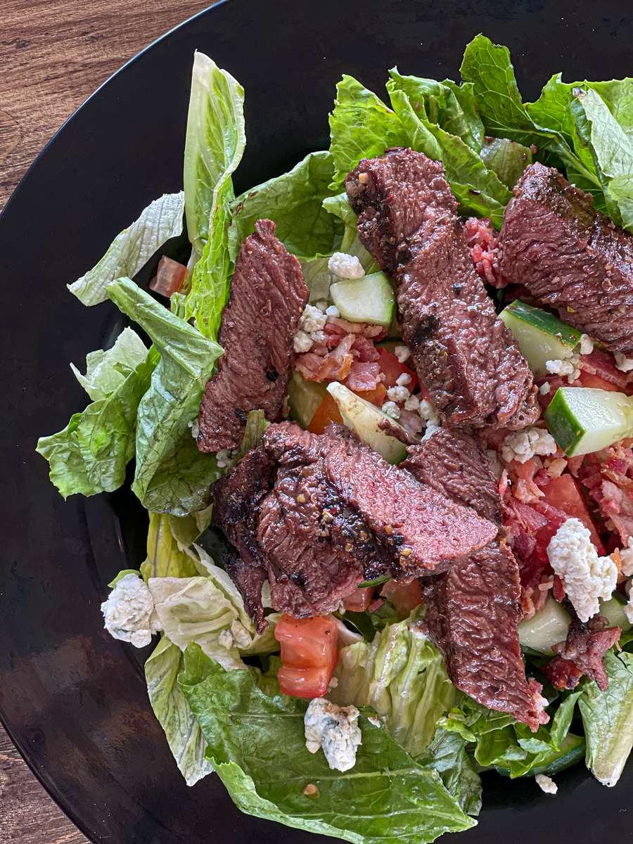 Sirloin Steak Salad
