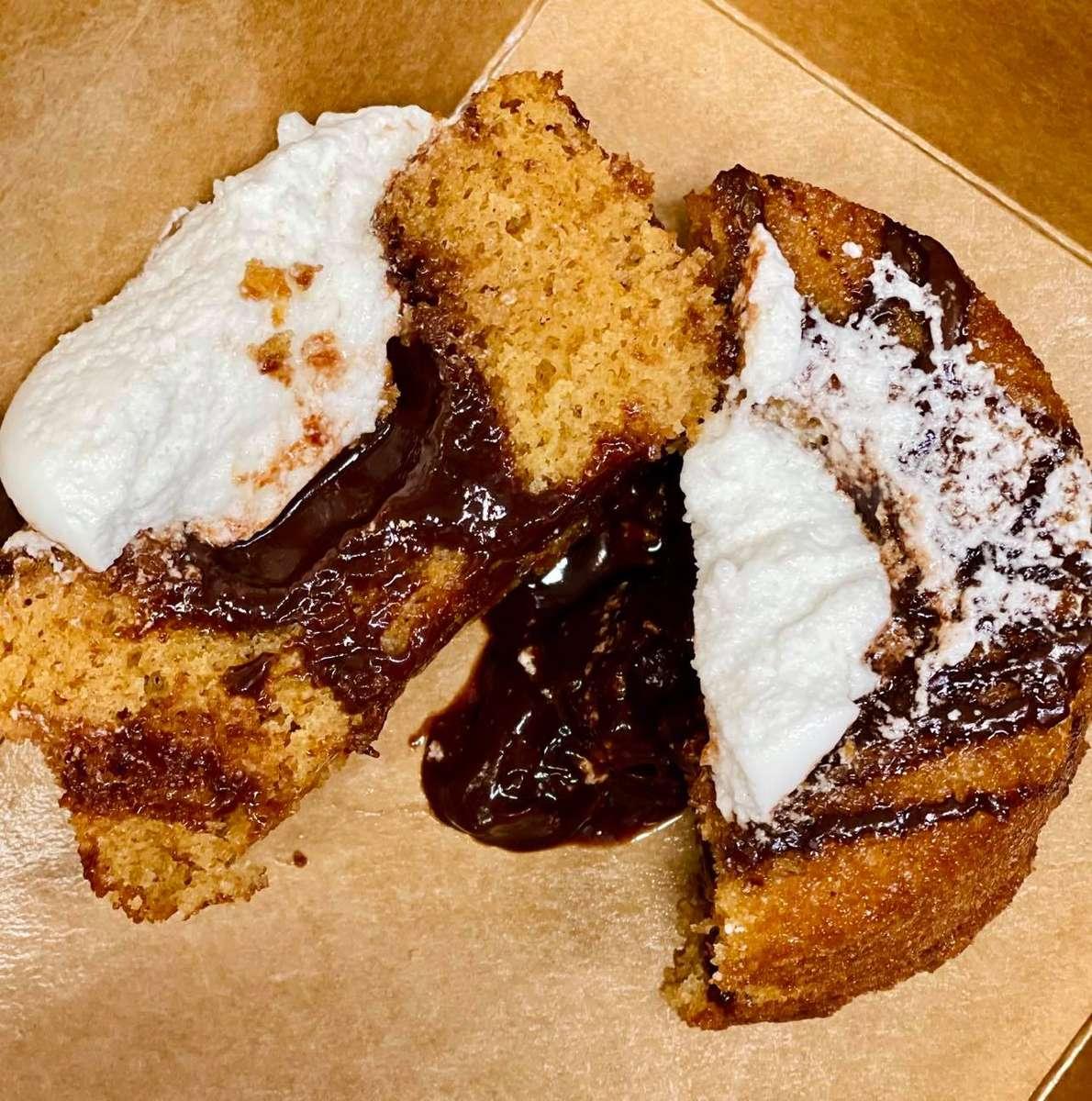 S'mores Lava Cake