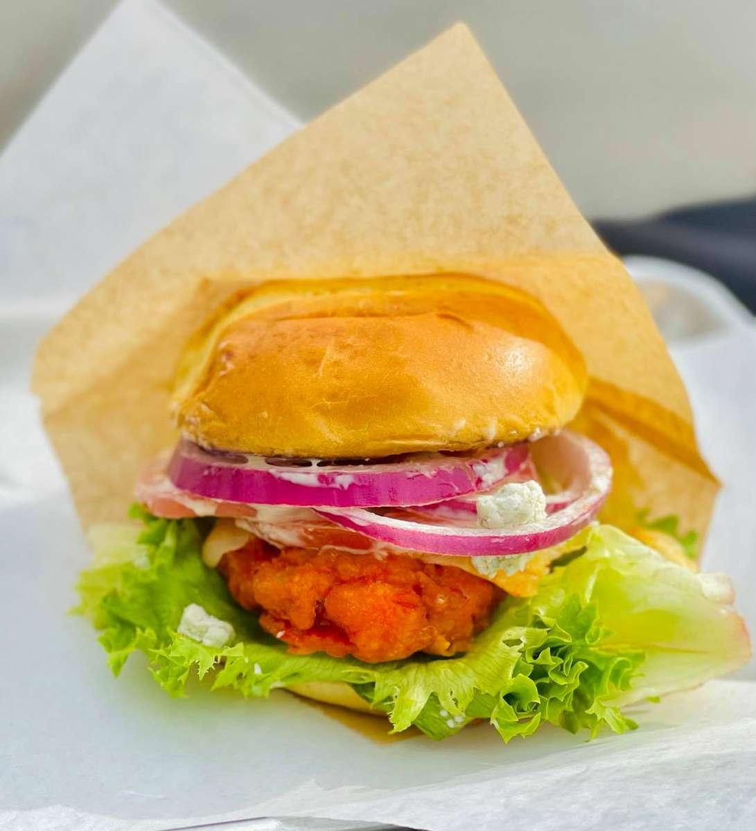 Buffalo Blue Chicken Sandwich