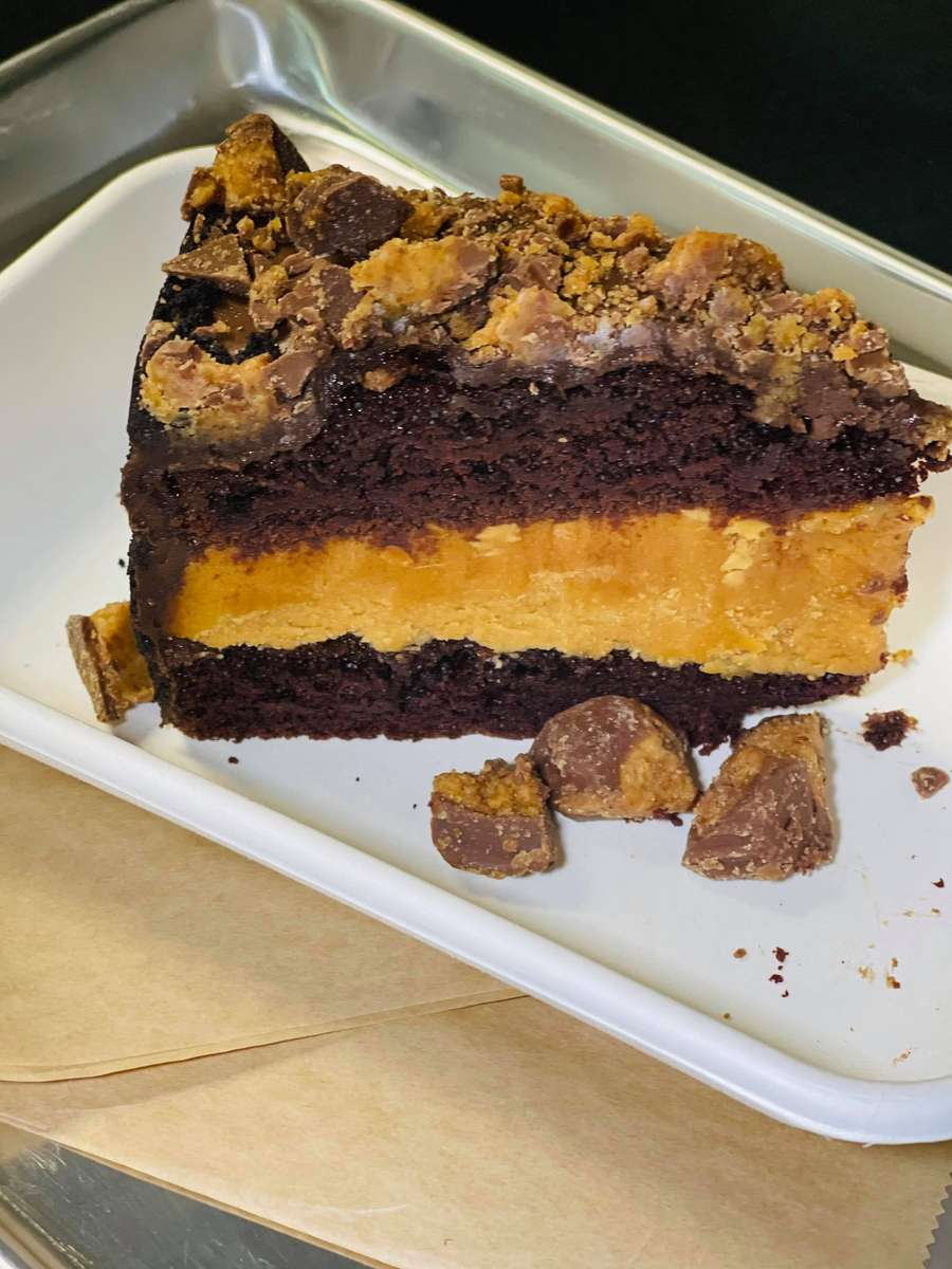 Peanut Butter Layered Cake