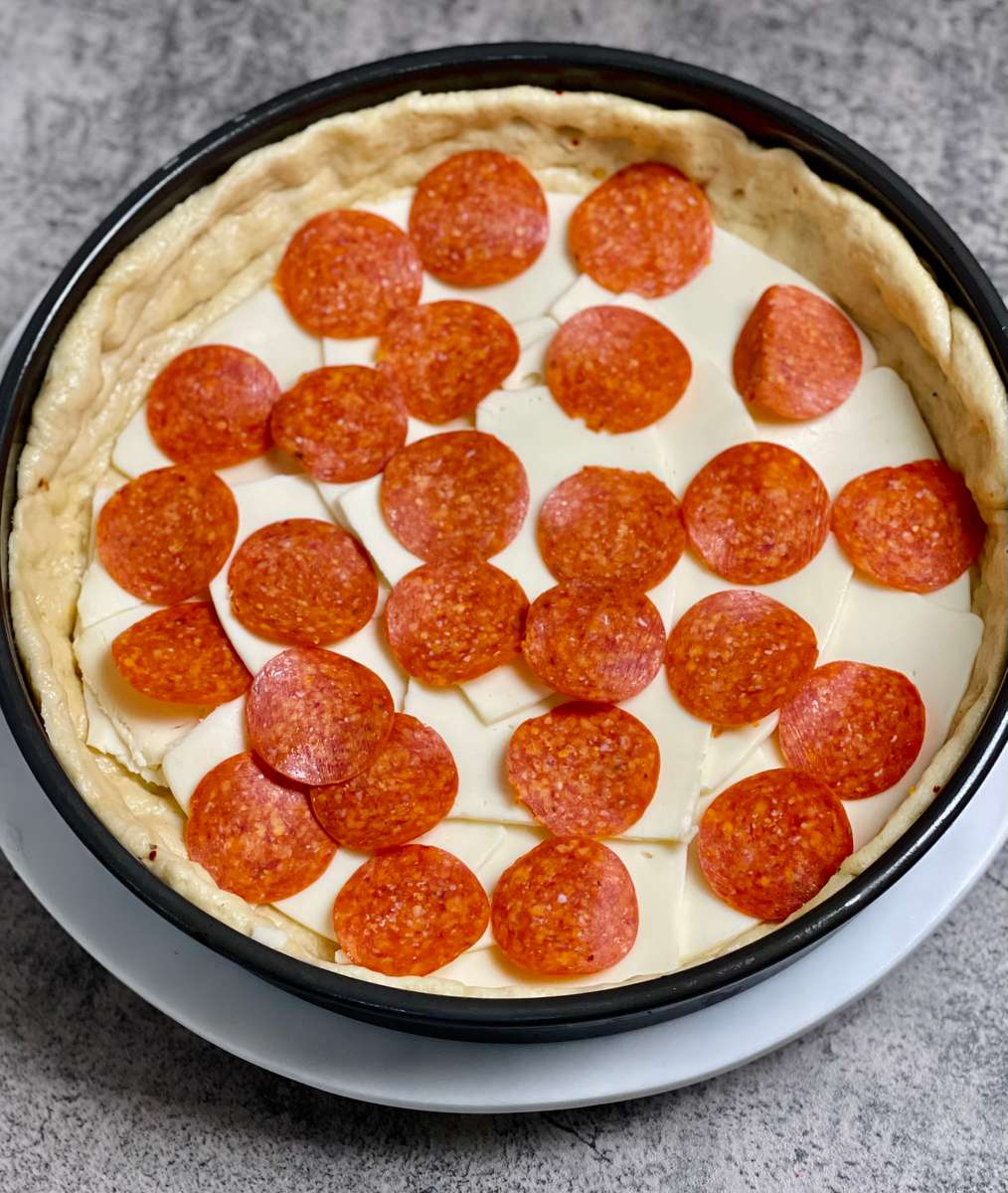 Pepperoni Deep Dish