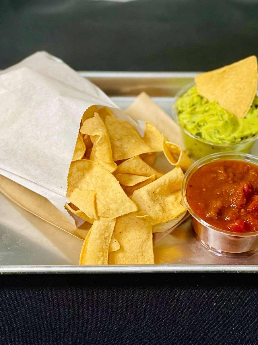 Homemade Chips, Salsa & Guac