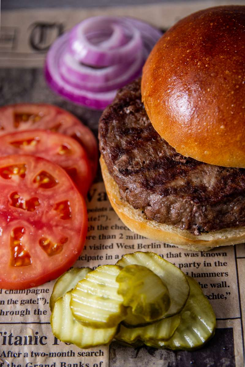Build Your Own Burger!