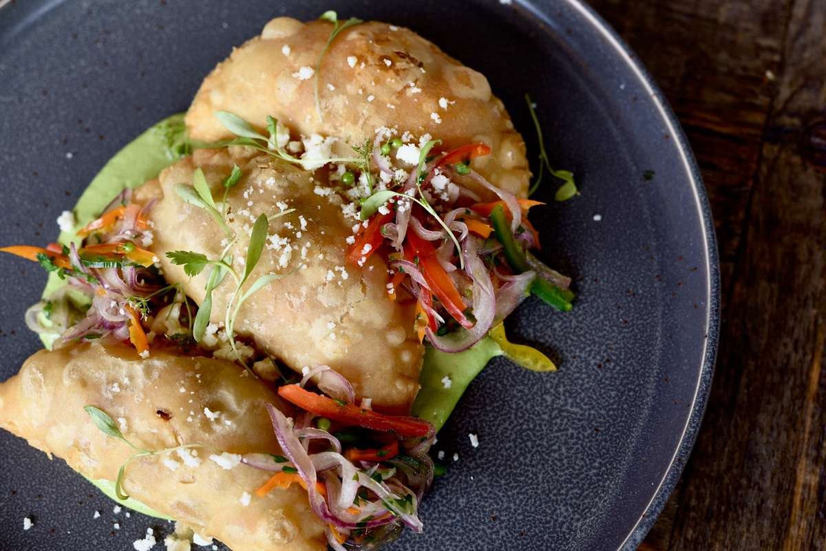 Chicken Tinga Empanadas