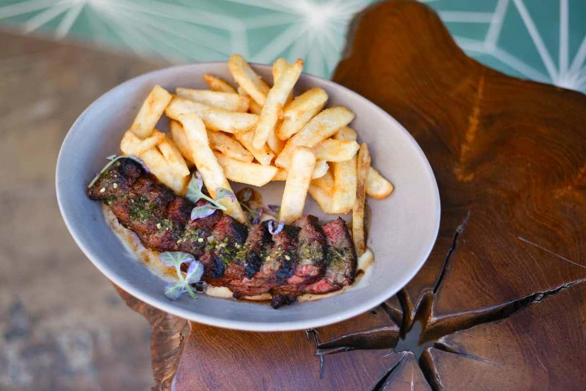 Wood Fired Steak Frites