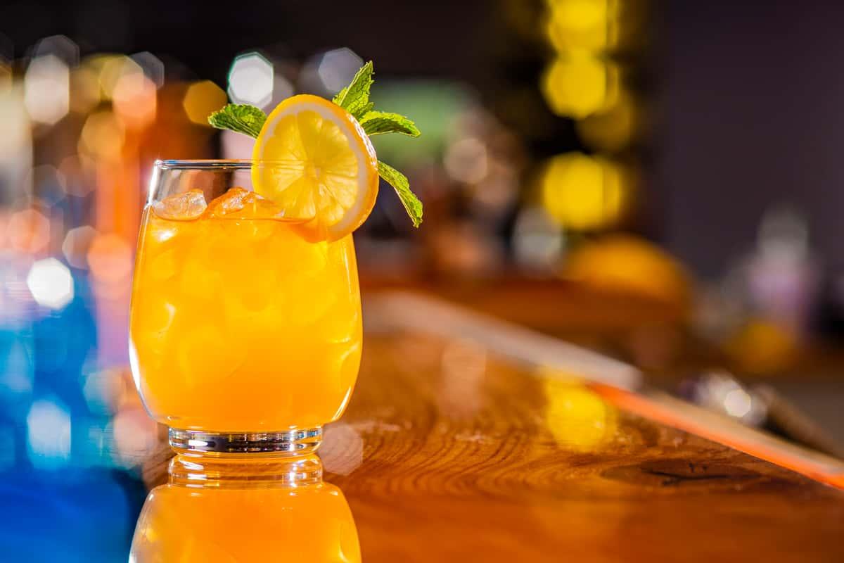Bourbon Peach Arnold Palmer