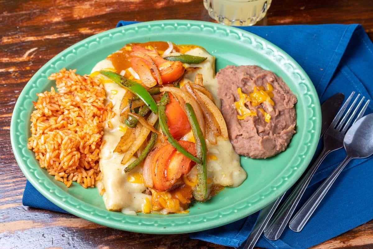 Enchiladas La Paz