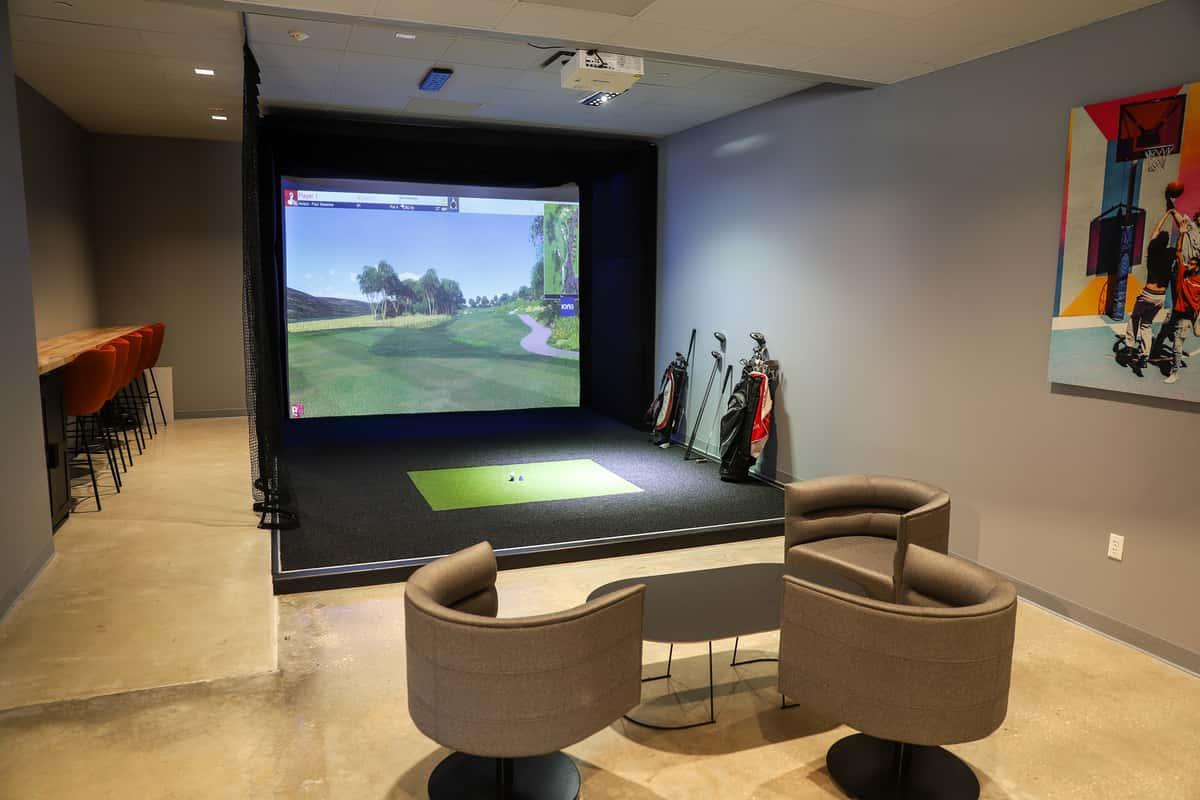 golf sim