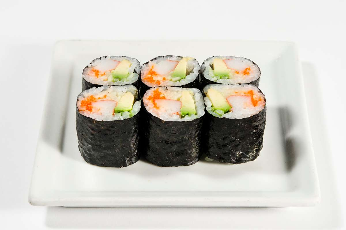 California Roll with Crabstick