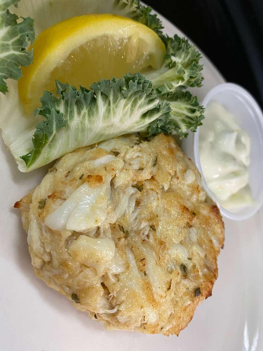 Backfin Crab Cake