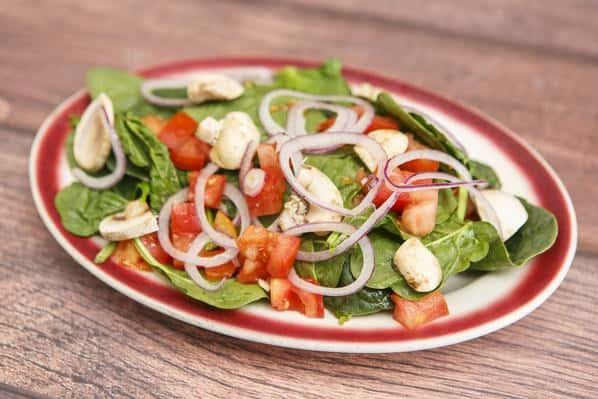 *Spinach Salad