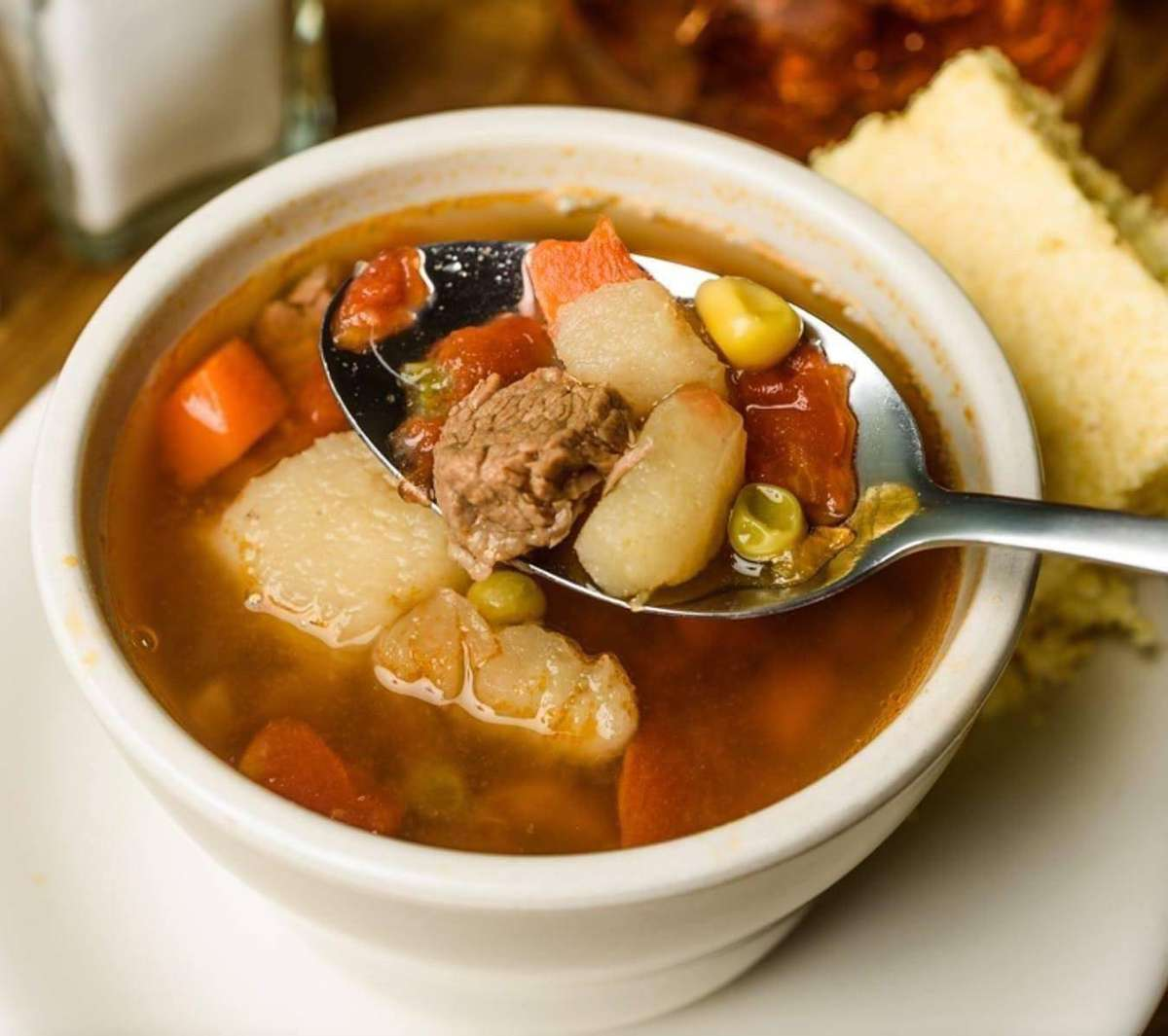 Tuesday: Vegetable Beef Soup