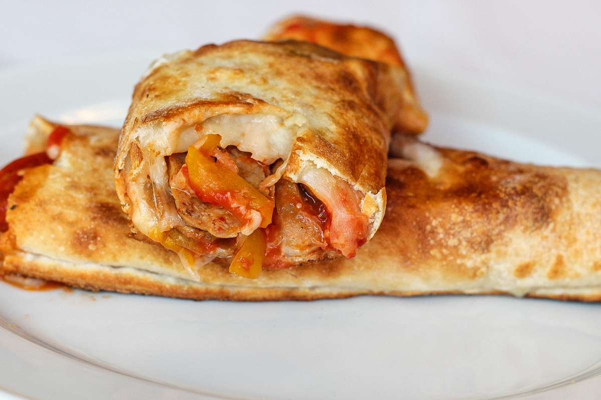 Sausage & Peppers Roll