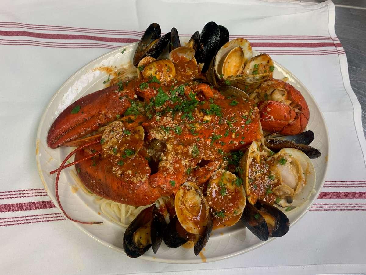 Lobster Fra Diablo