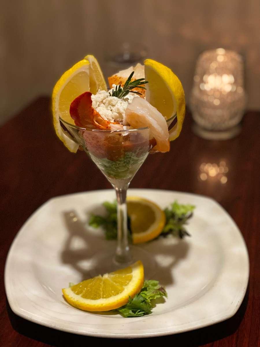 Seafood Martini