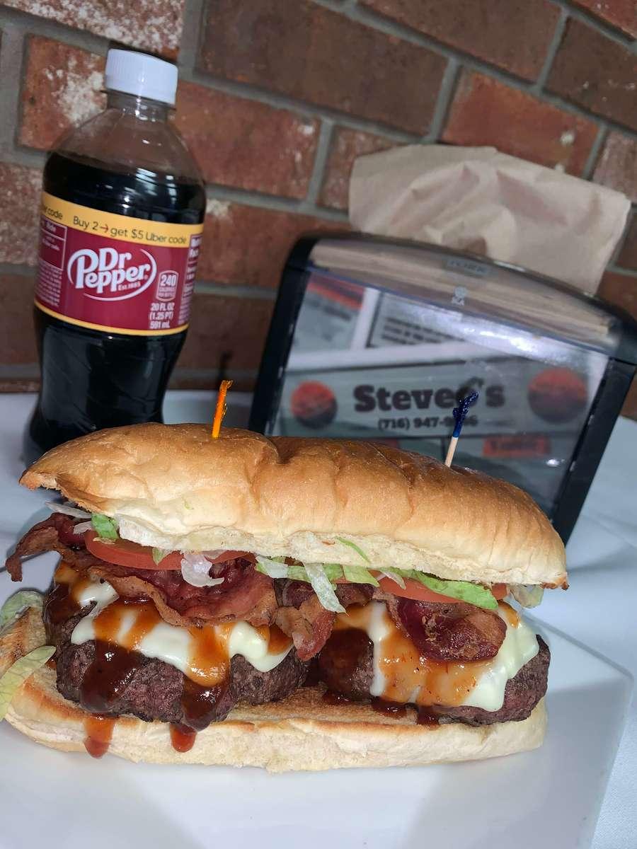 BBQ Bacon Cheeseburger Sub