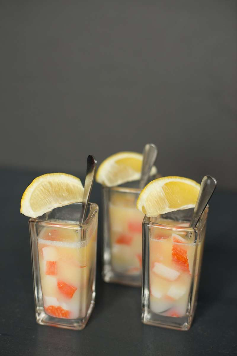 Butter Poached Lobster Shooter