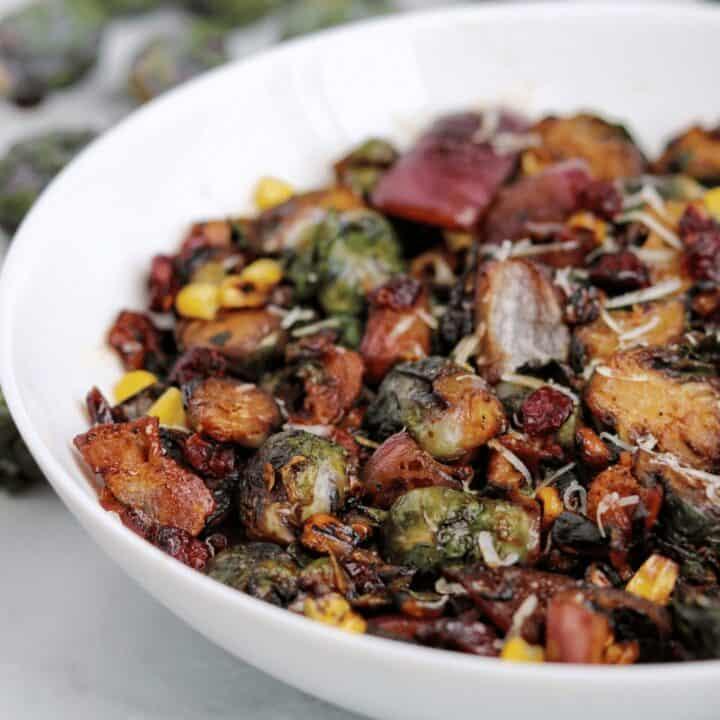 Vegan Crispy Brussels Sprouts