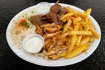 Combination Gyro & Chicken Platter