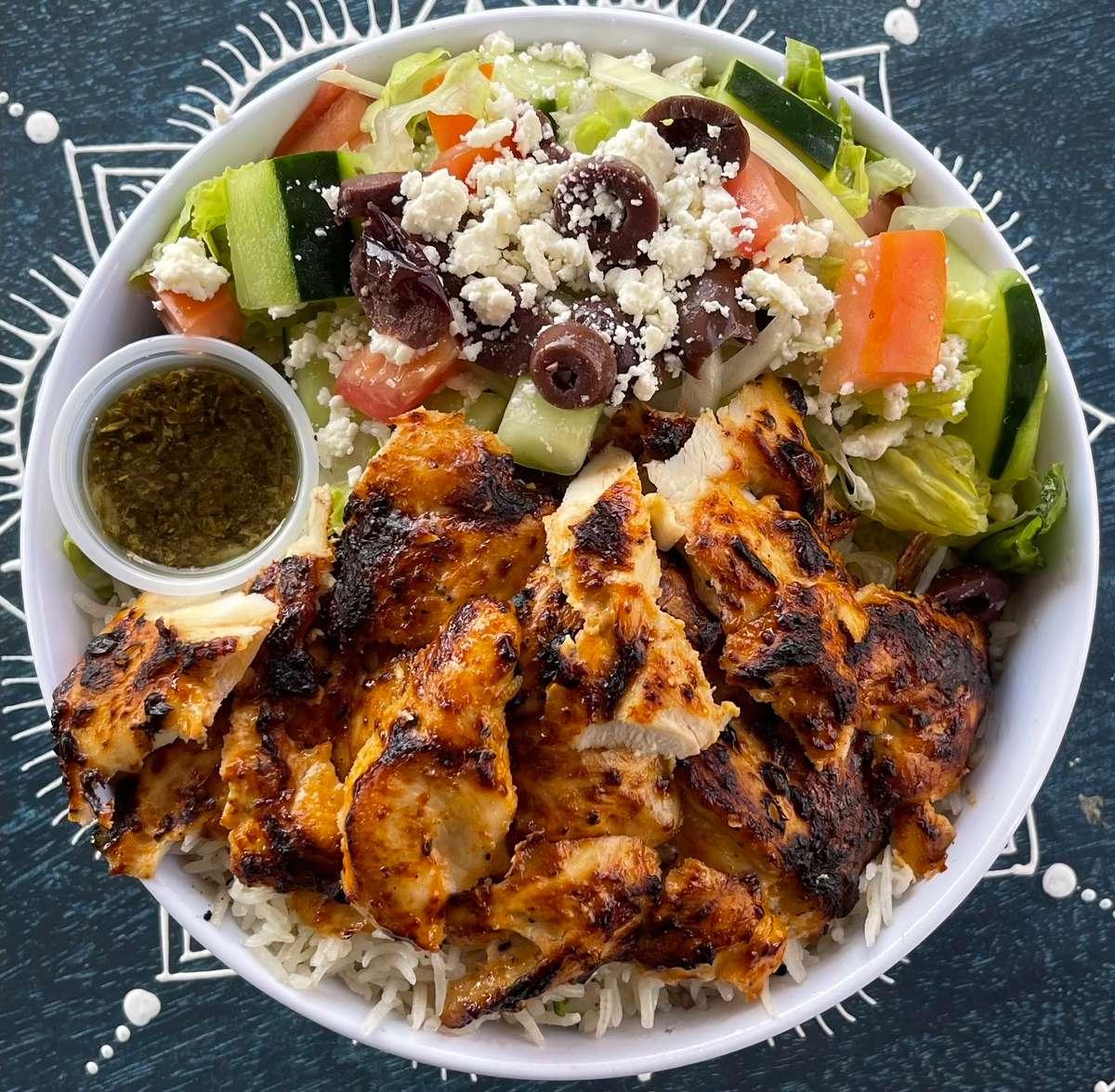 Chicken Shawarma ORS ((bowl))