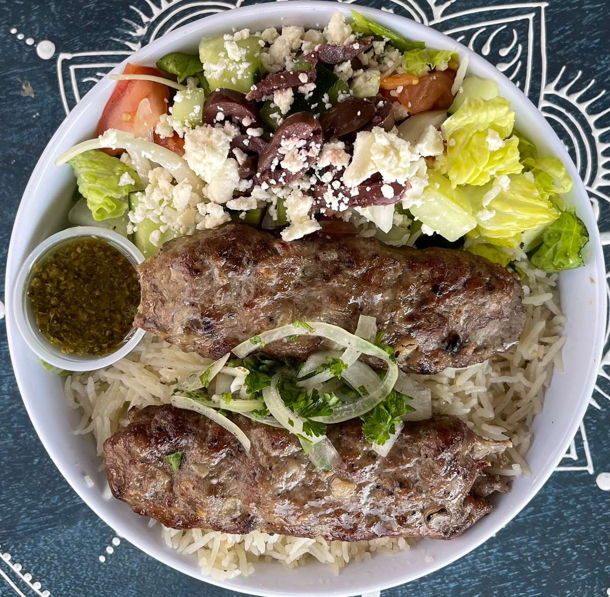 Lamb Kabob ORS ((bowl))