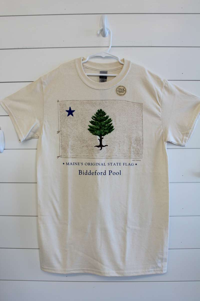 Historic Maine Flag Tee Shirt
