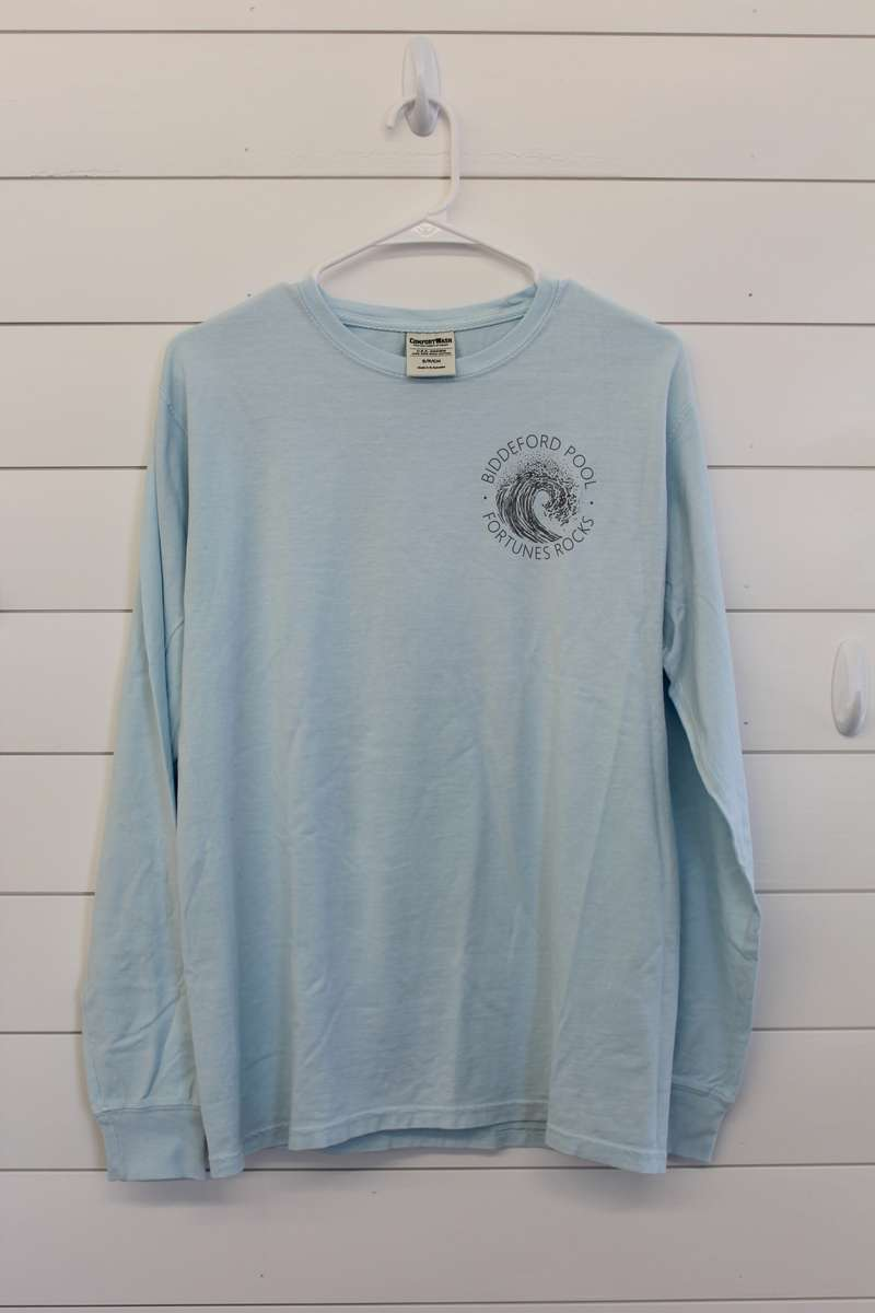 Wave Tee Shirt, Long Sleeve