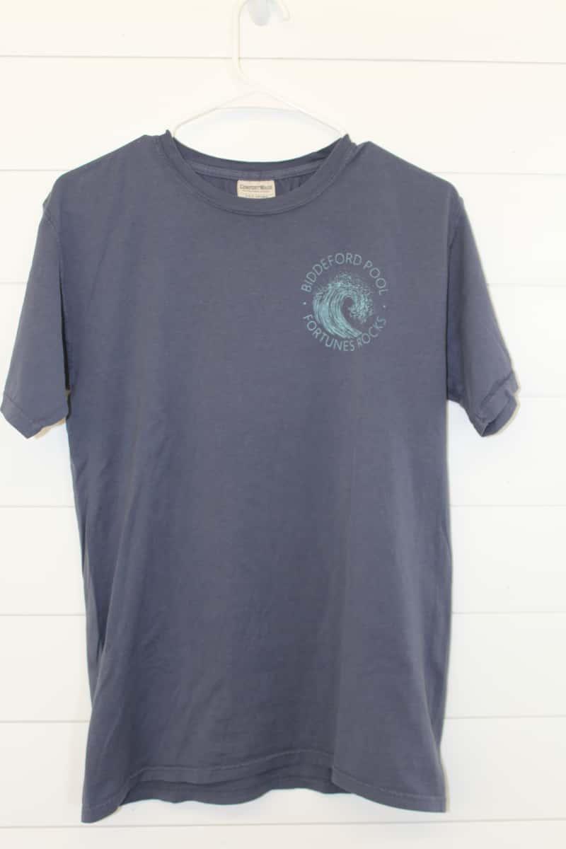 Wave Tee Shirt, Short Sleeved