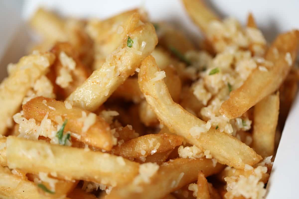 Garlicky Fries