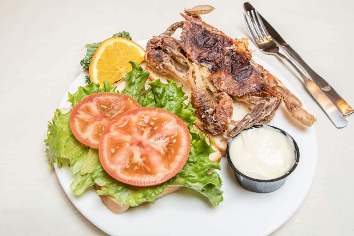 Soft Crab Platter