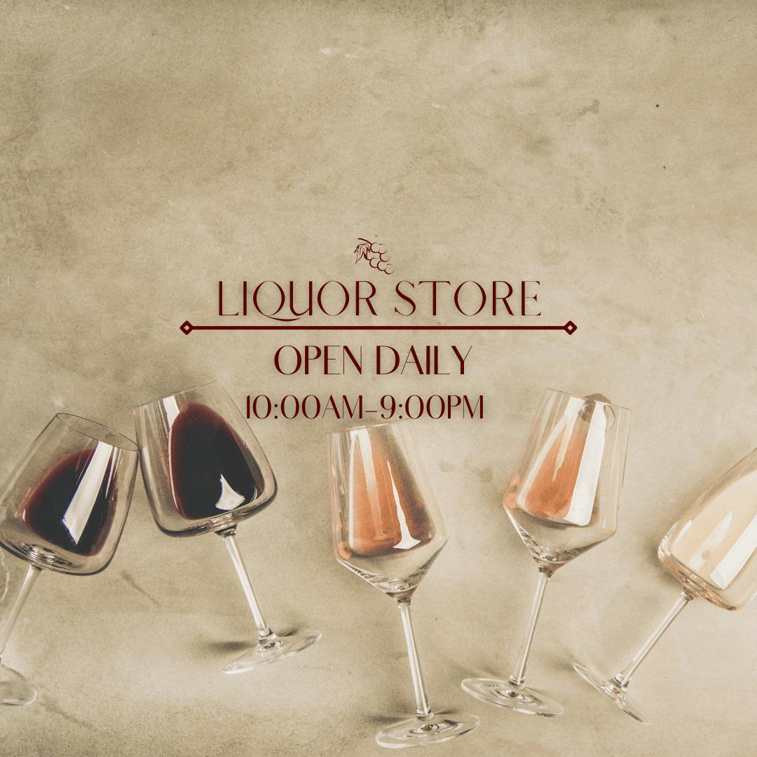 Liquor Store Hours