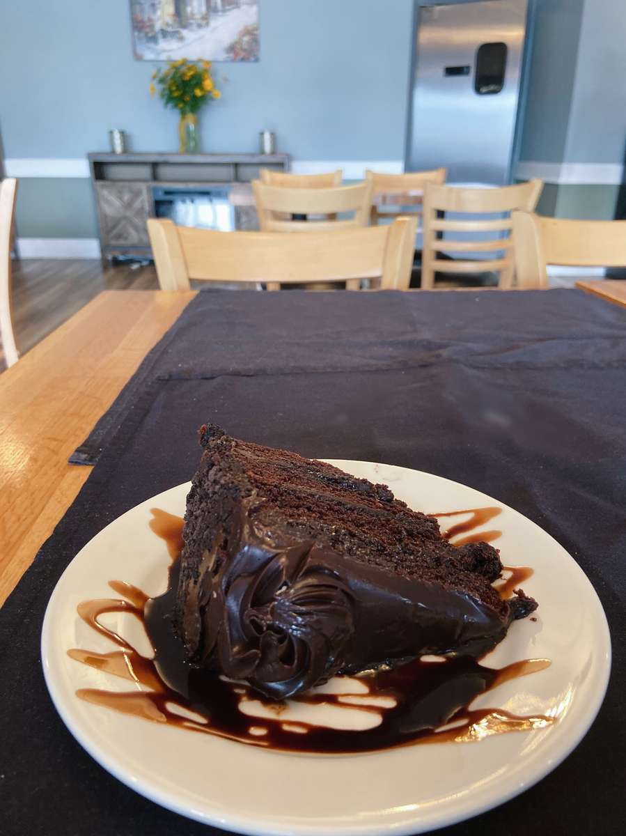 Chocolate Thunder Cake