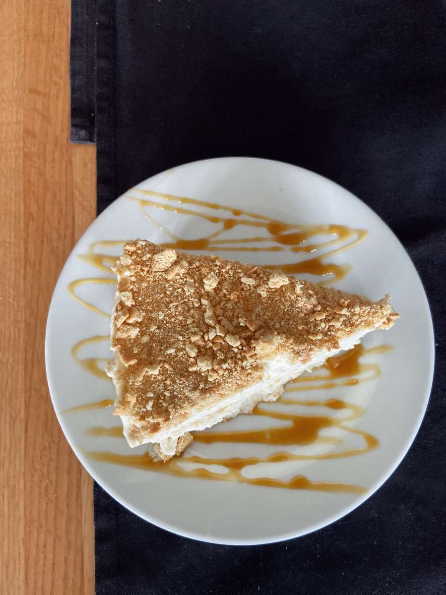 Homemade Maria Cookie Ice Cream Cake