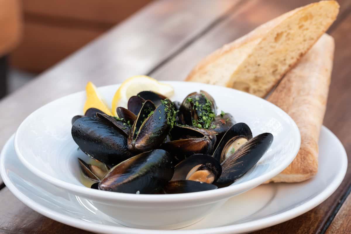 Bourbon Street Mussels