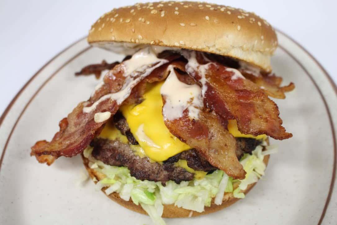 1/4 lb Bacon Burger