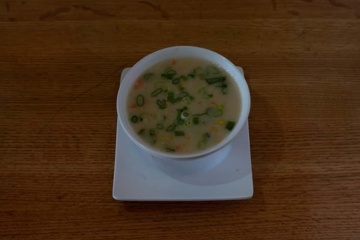 Veg. Sweet Corn Soup