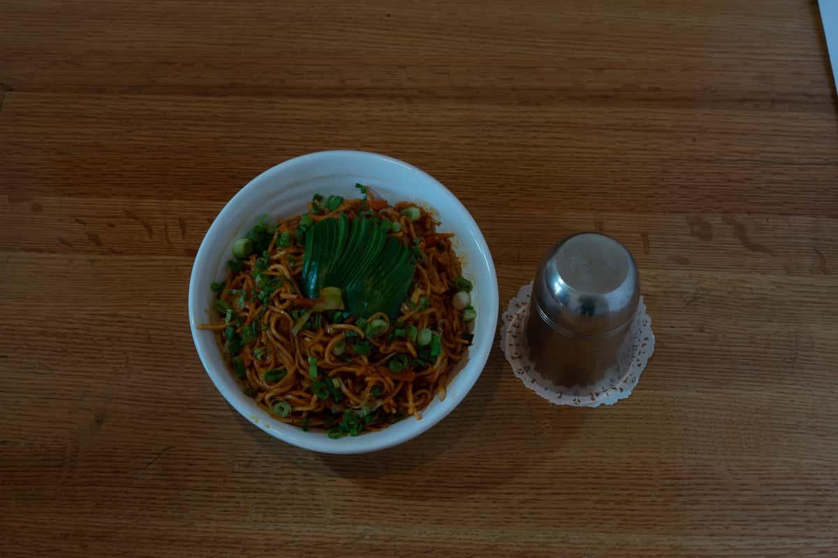 Veg. Schezwan Noodles