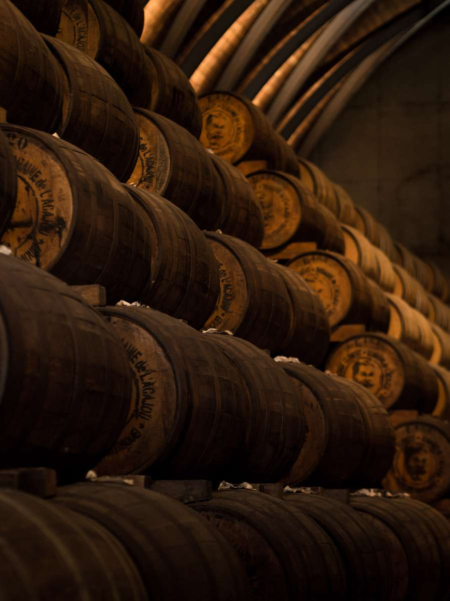 oak barrels