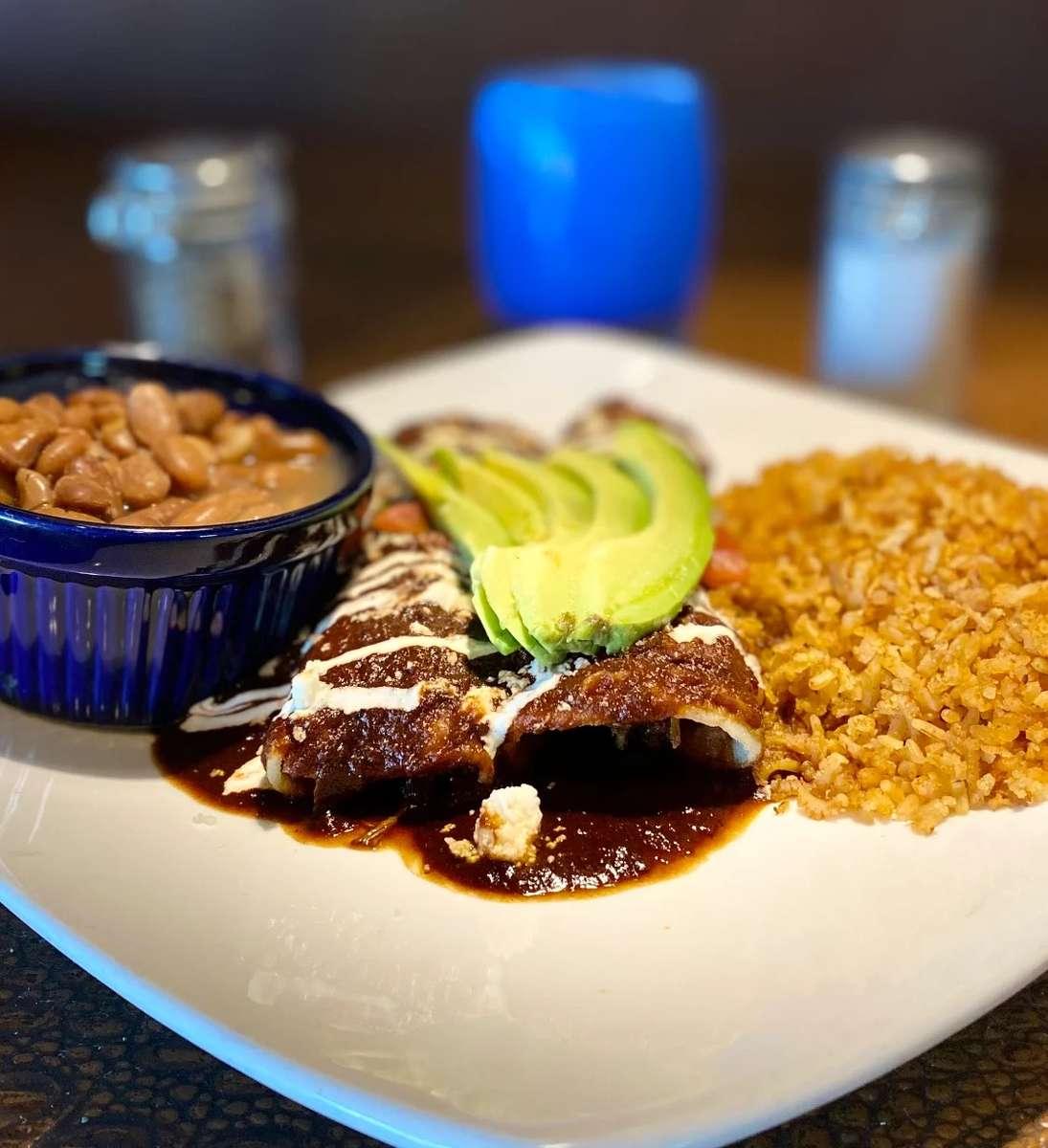 Braised Short Rib Enchiladas